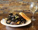 Nova Scotia Steamed Mussels